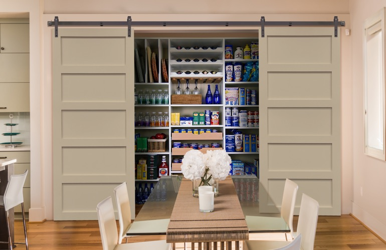 Pantry Sliding Barn Doors In New York City, NY