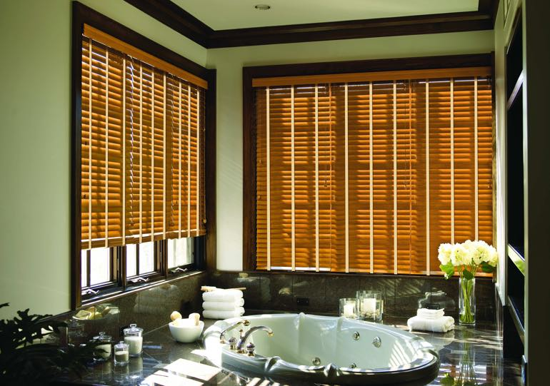 New York City bathroom blinds