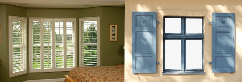 New York City NY indoor and outdoor shutters