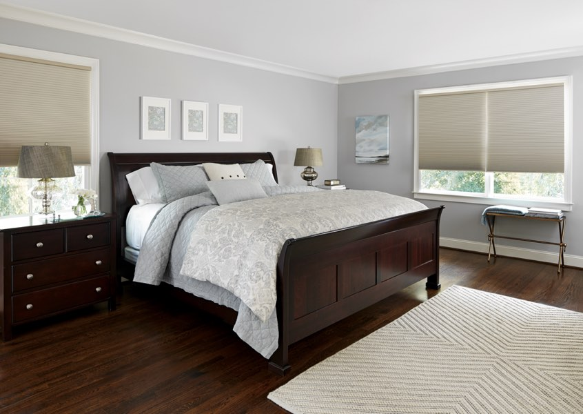 New York City blackout shades bedroom