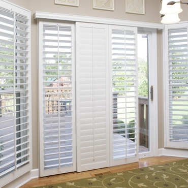 New York City Sliding Patio Door Shutters