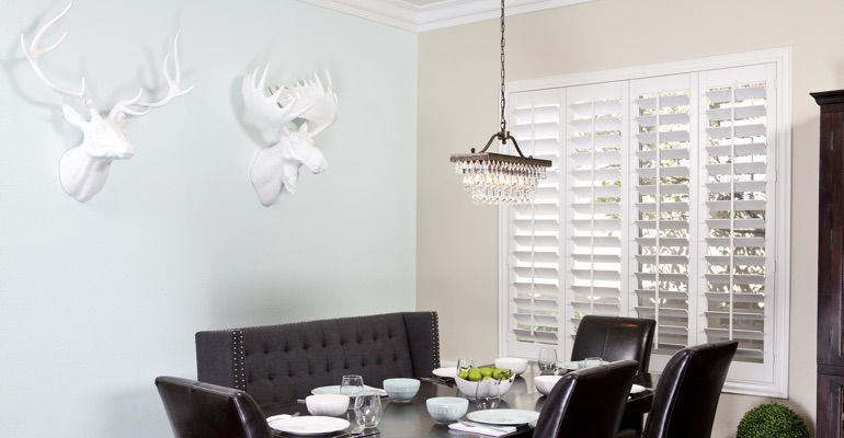 New York City dining room shutters