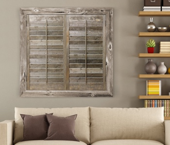 Reclaimed Wood Shutters Product In Hartford