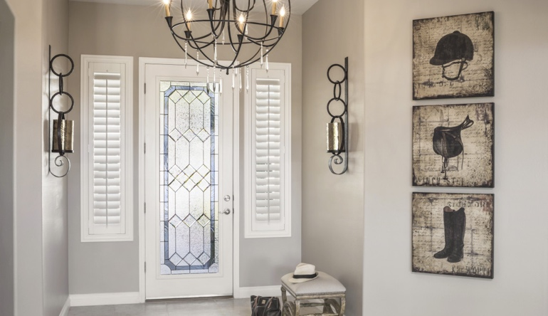 New York City foyer shutters