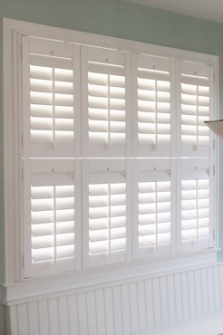 New York City Studio Plantation Shutters