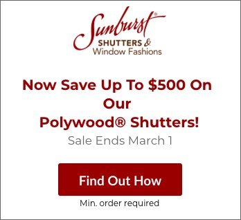 Sale on New York City Polywood Shutters