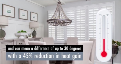 How Hartford Shutters Keep Your Home Cool