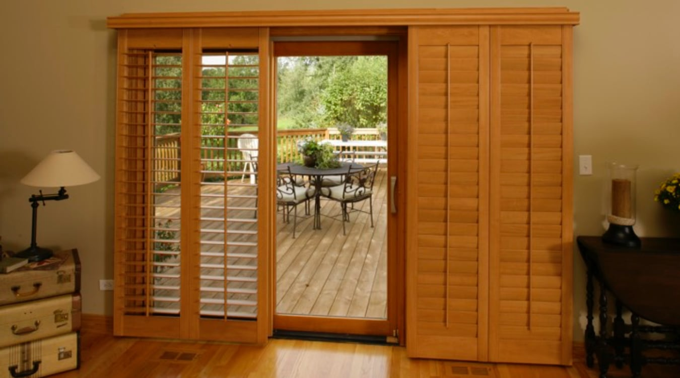 Sliding Glass Door Shutter In New York City