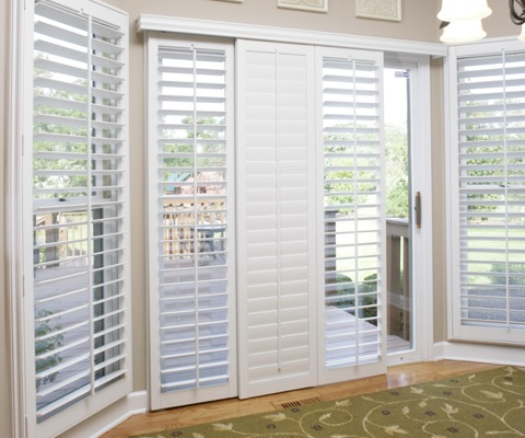 NY patio door shutters