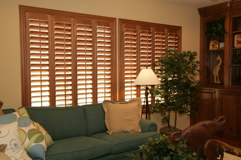 Ovation Shutters In A New York City Living Room.